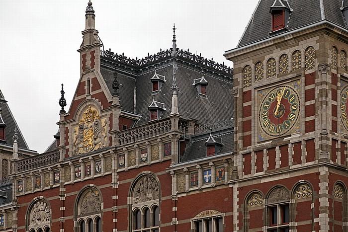 Centrum: Bahnhof Amsterdam Centraal (Hauptbahnhof) Amsterdam