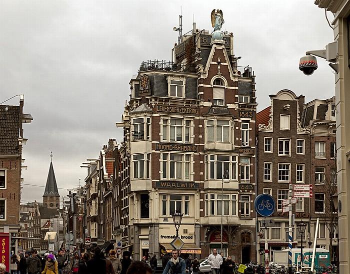 Centrum: Nieuwendijk / Haarlemmerstraat / Singel - Levensverzekering Noord-Braband-Waalwijk Amsterdam