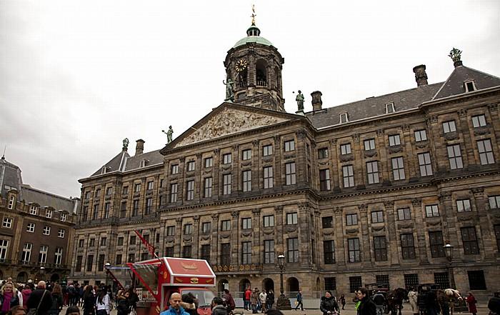 Centrum: Dam - Paleis op de Dam (Königlicher Palast) Amsterdam