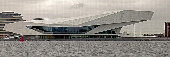 IJ, Overhoeks mit dem EYE Film Instituut Nederland Amsterdam