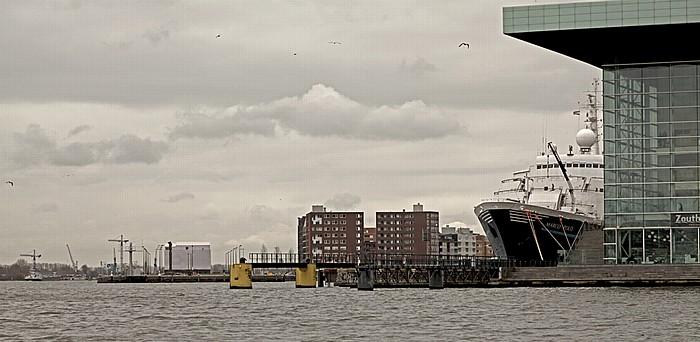 IJ, IJhaven, Muziekgebouw aan 't IJ Amsterdam