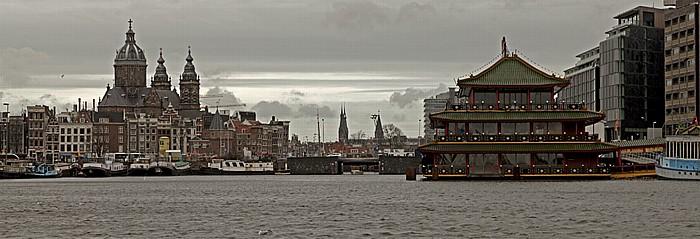 Amsterdam Oosterdok Posthoornkerk Sint-Nicolaaskerk