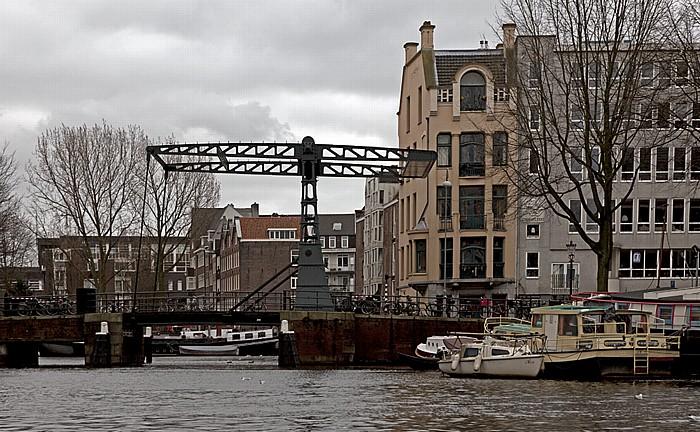 Oudeschans: Peperbrug und Rapenburgwal Amsterdam