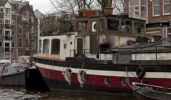 Oudeschans: Hausboot Amsterdam