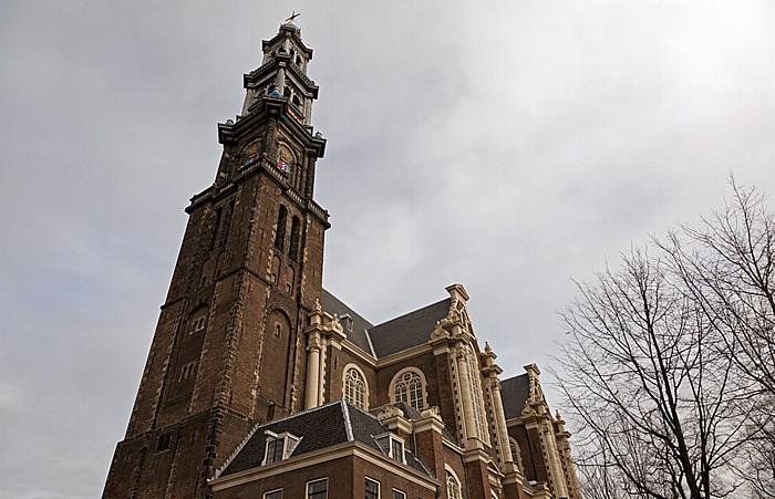 Prinsengracht: Westerkerk Amsterdam