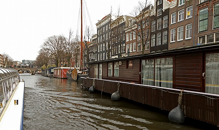 Prinsengracht: Hausboote Amsterdam