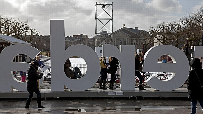 Museumplein: Werbelogo I amsterdam Amsterdam