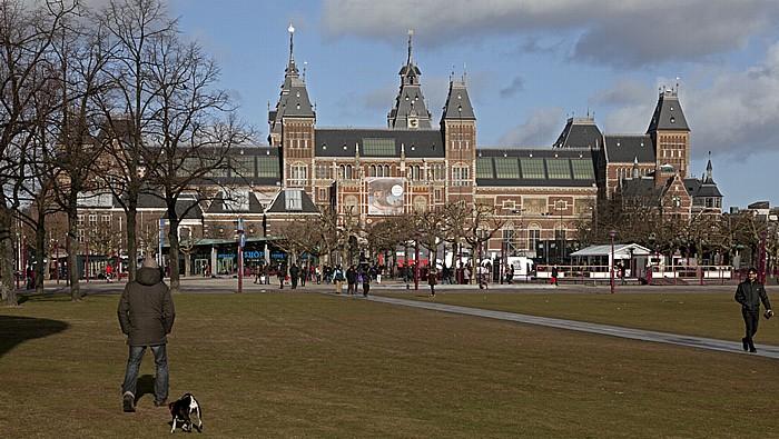 Museumplein: Rijksmuseum Amsterdam