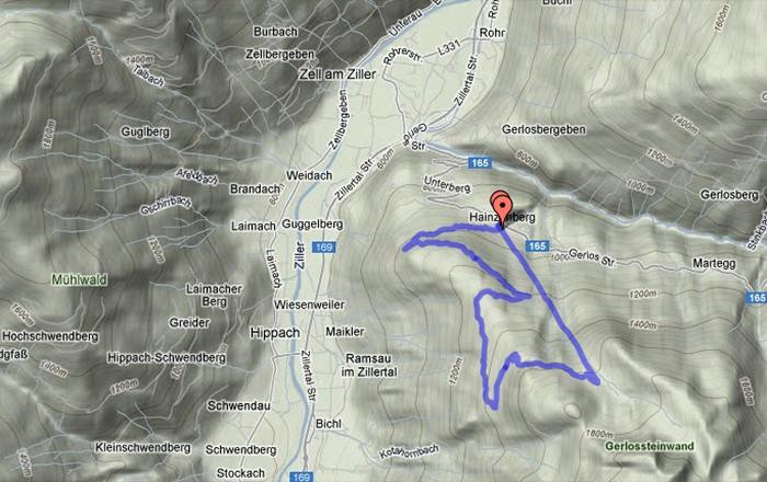 Gerlosstein Bergbahn und Rodelpiste