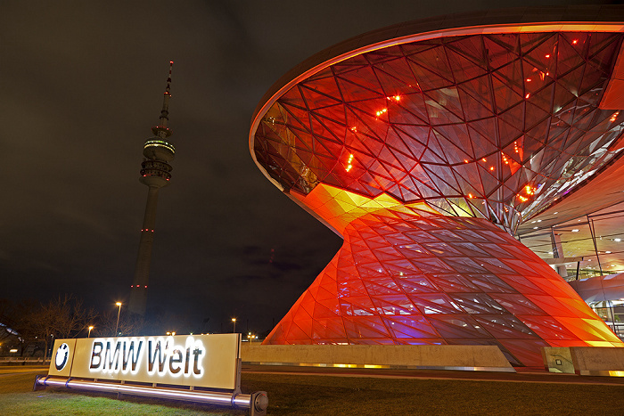 München BMW Welt Olympiaturm