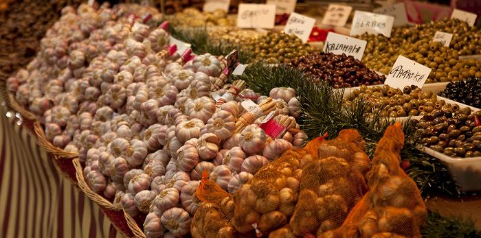 Manchester Albert Square mit Weihnachtsmarkt