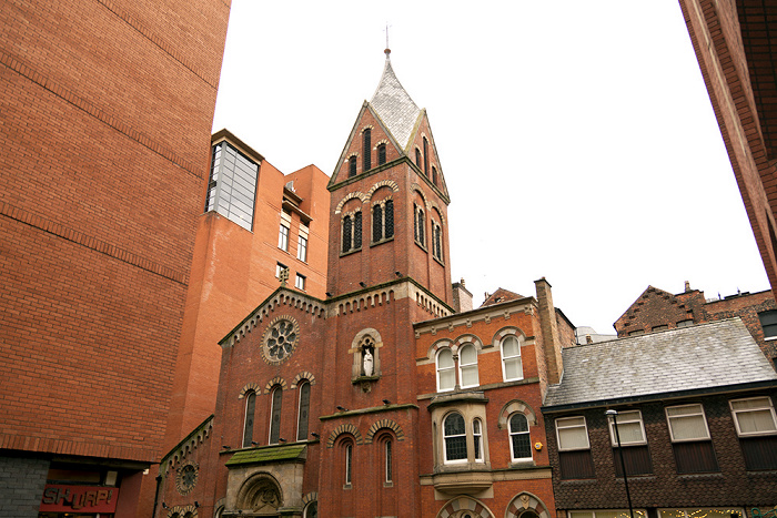Manchester The Hidden Gem (St Mary's Roman Catholic Church)