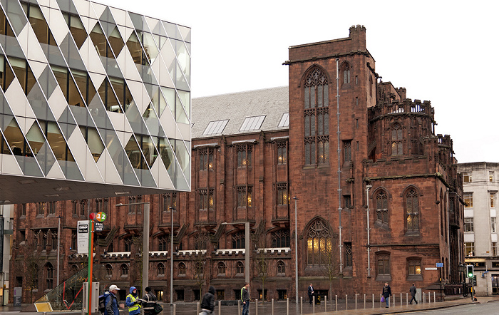 Manchester Spinningfields: The Avenue, John Rylands Library