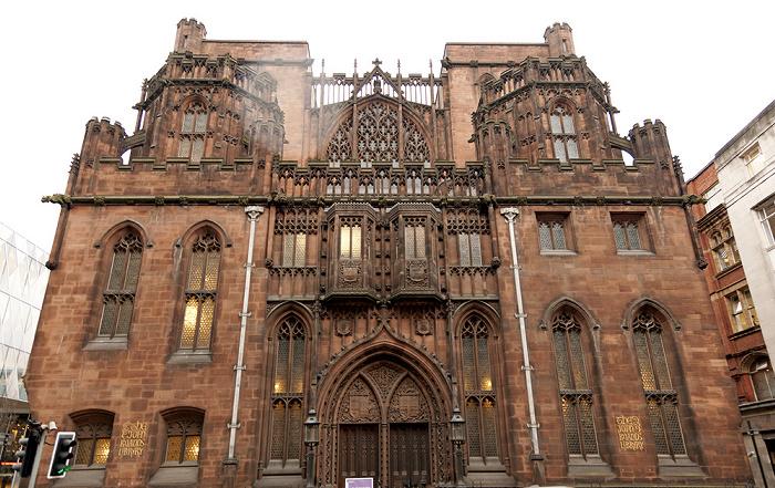 Manchester John Rylands Library