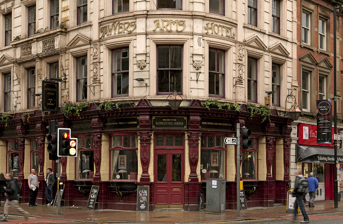 Manchester Deansgate / Bridge Street: Sawyers Arms