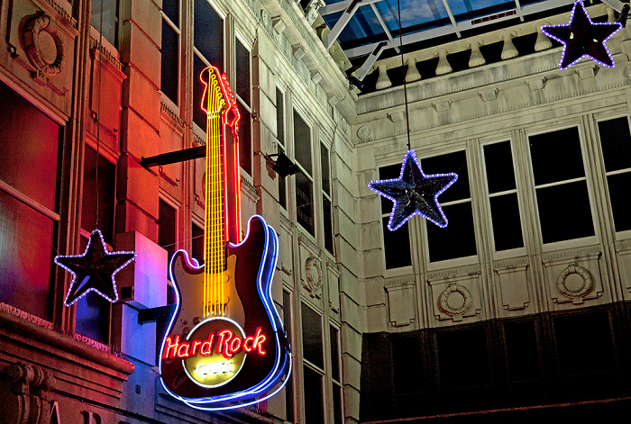 Manchester The Printworks: Hard Rock Cafe