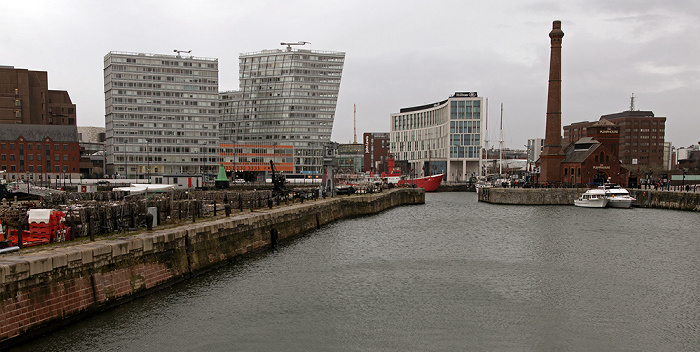 Port of Liverpool: Canning Half Tide Dock Hilton Liverpool One Park West The Pumphouse