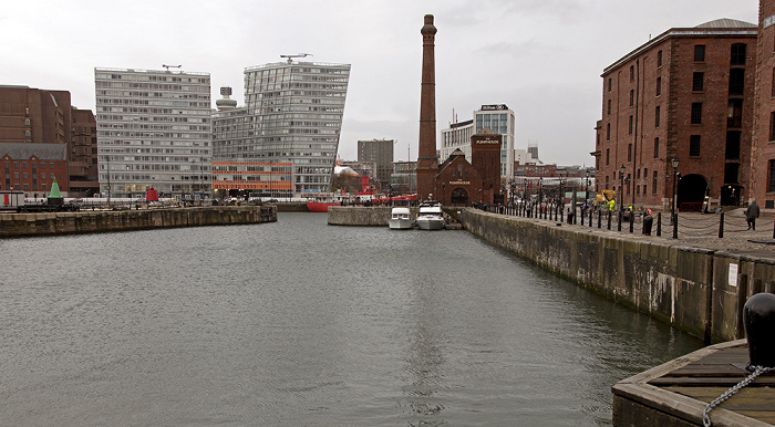 Port of Liverpool: Canning Half Tide Dock Hilton Liverpool Merseyside Maritime Museum One Park West The Pumphouse