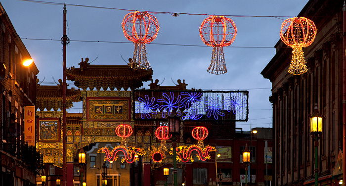 Liverpool Chinatown: Nelson Street