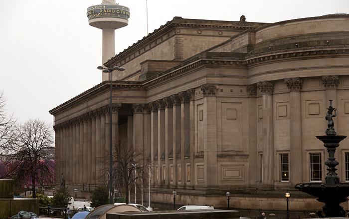 Liverpool St George's Hall Radio City Tower