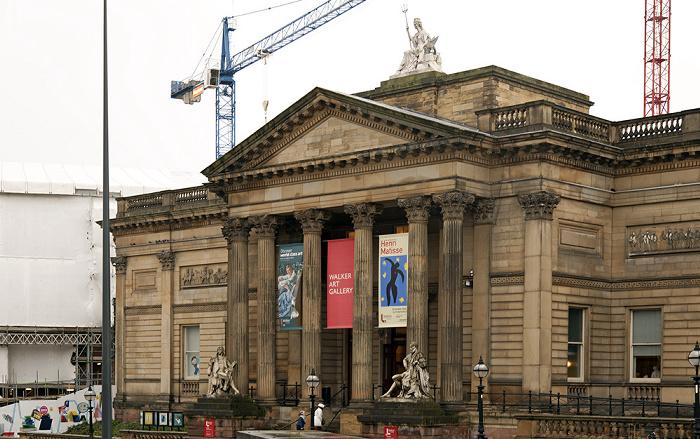 Liverpool Lime Street / William Brown Street: Walker Art Gallery
