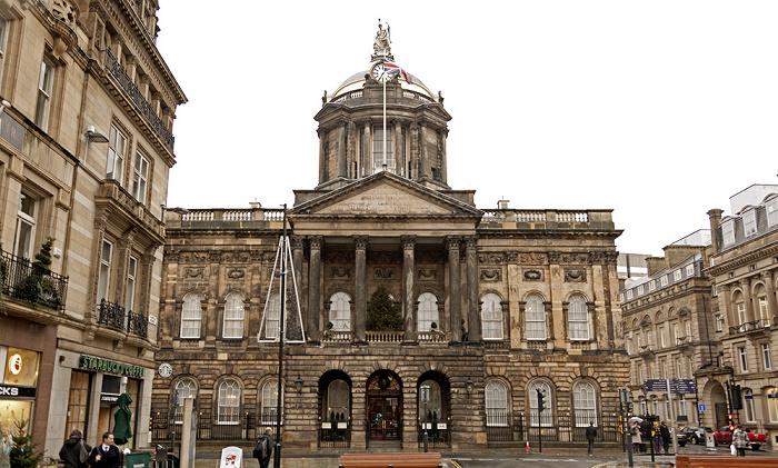 Water Street / Castle Street / Dale Street: Liverpool Town Hall