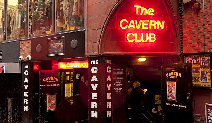 Liverpool Mathew Street: The Cavern Club
