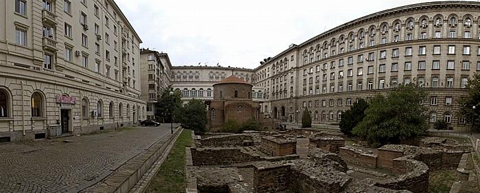 Sofia Sveti Georgi (Georgs-Kirche, ehem. römischer Thermenbau) Sheraton Sofia Hotel Balkan