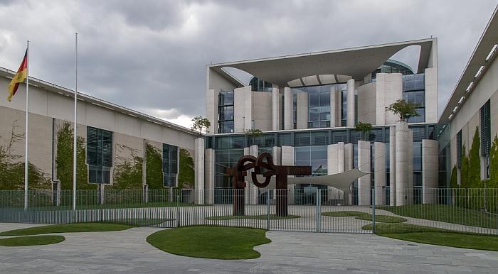 Tiergarten (Regierungsviertel): Bundeskanzleramt Berlin 2011