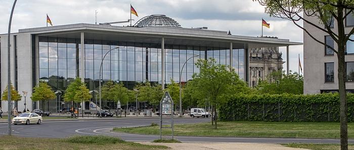 Tiergarten (Regierungsviertel): Willy-Brandt-Straße, Paul-Löbe-Haus Berlin 2011