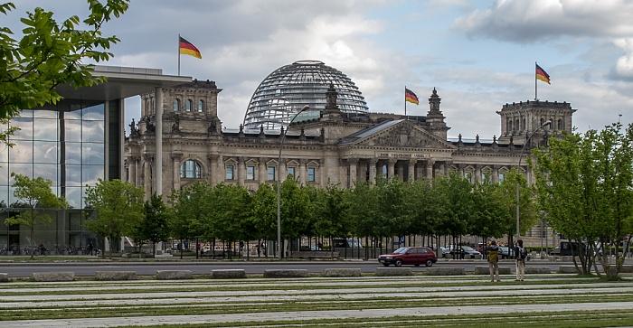 Tiergarten (Regierungsviertel): Reichstagsgebäude Berlin 2011