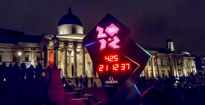 London City of Westminster: Trafalgar Square - National Gallery