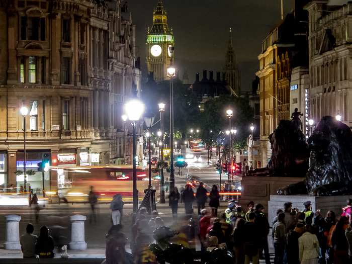 London City of Westminster: Trafalgar Square, Big Ben