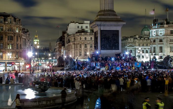 London City of Westminster: Trafalgar Square Big Ben Nelson's Column