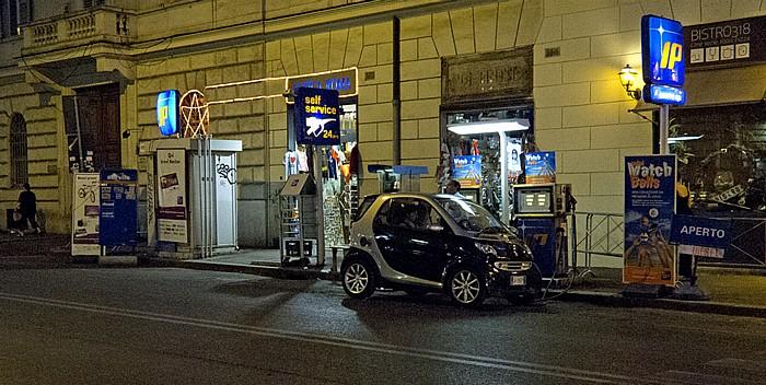 Rom Tankstelle