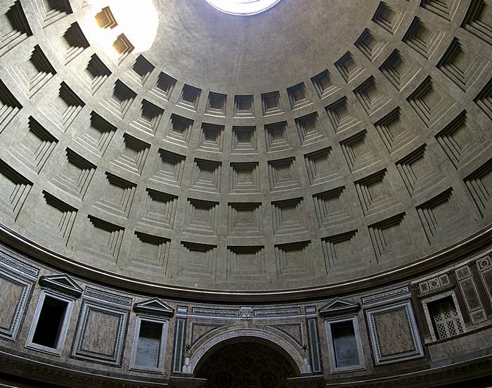 Rom Pantheon: Kuppel