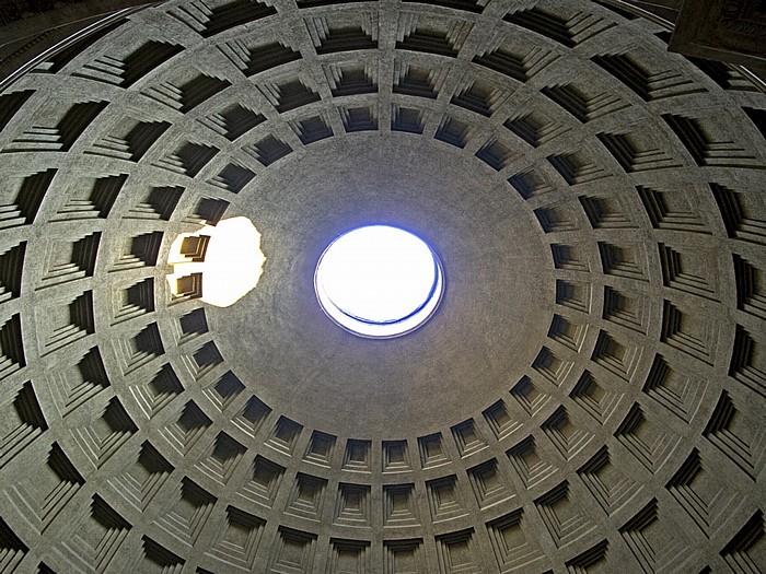 Pantheon: Kuppel Rom