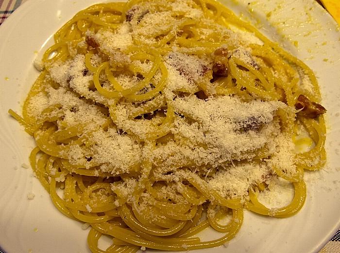 Rom Spaghetti Carbonara