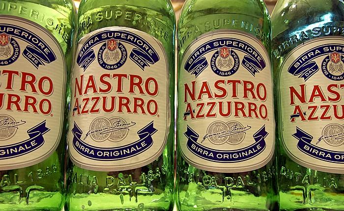 Rom Bier Nastro Azzurro
