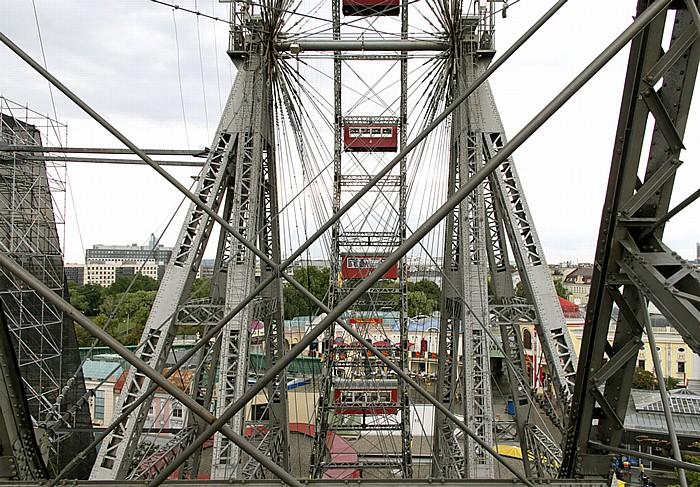 Wiener Prater (Wurstelprater): Riesenrad Wien