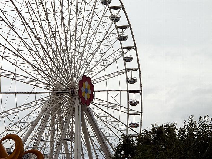 Wiener Prater (Wurstelprater): Neues Riesenrad Wien