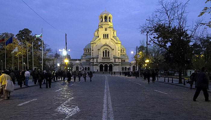 Sofia Alexander-Newski-Platz: Alexander-Newski-Kathedrale