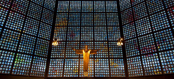 Berlin Kaiser-Wilhelm-Gedächtniskirche: Neue Kirche Kaiser-Wilhelm-Gedächtnis-Kirche