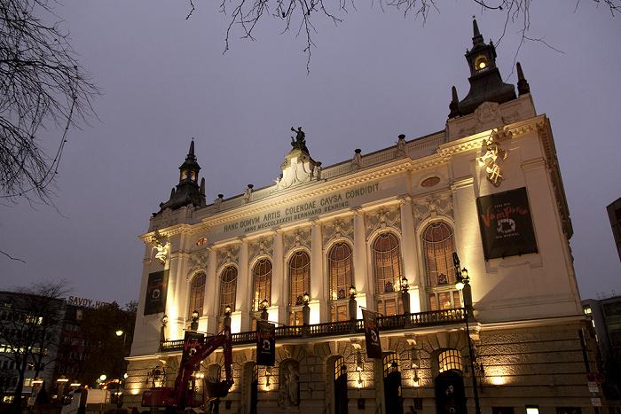 Berlin Charlottenburg: Kantstraße - Theater des Westens