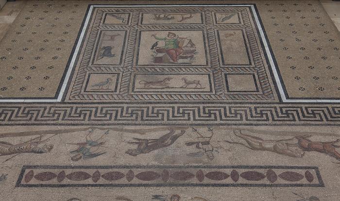 Berlin Pergamonmuseum: Orpheusmosaik