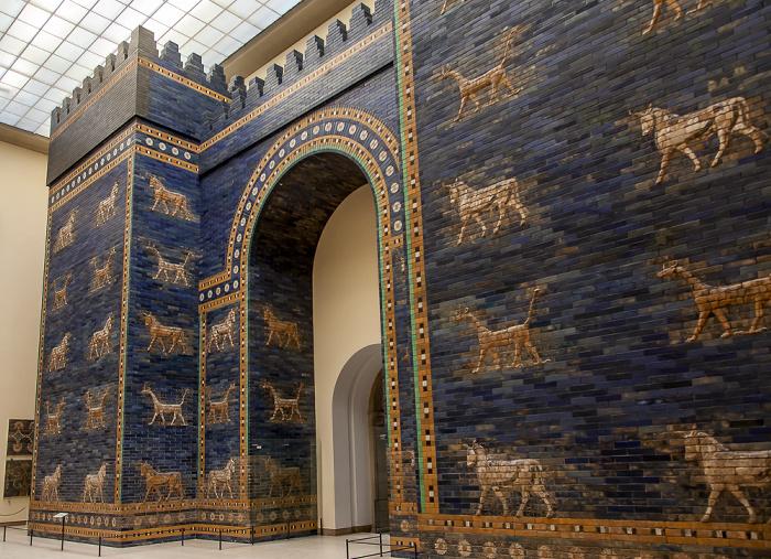 Pergamonmuseum: Ischtar-Tor von Babylon Berlin 2011