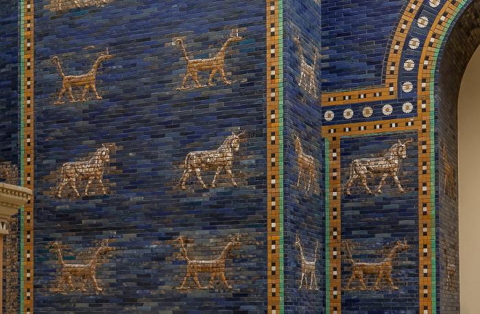 Berlin Pergamonmuseum: Ischtar-Tor von Babylon