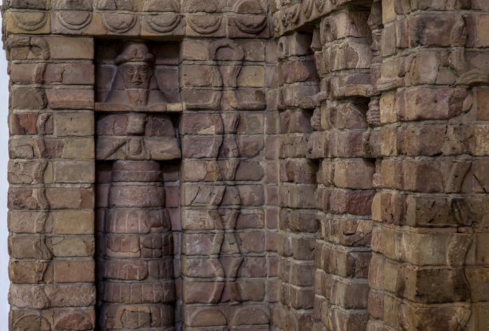 Berlin Pergamonmuseum: Fassade des Inanna-Tempels des Kara-Indasch aus Uruk