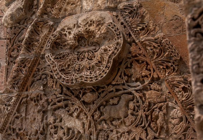 Berlin Pergamonmuseum: Fassade des Palasts von Mschatta