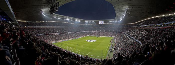 Allianz Arena: Vor dem Champions League-Halbfinal-Hinspiel FC Bayern München - Real Madrid München 2012